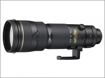 Nikon представил новый супер телезум Nikkor 200-400mm F/4 ED VRII