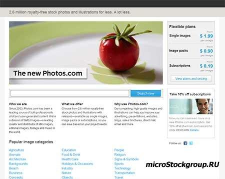 Photos.com - вновь работает