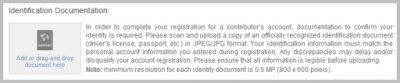 Микросток DepositPhotos процедура прохождения экзамена (загружаем документ подтверждающий вашу личность).