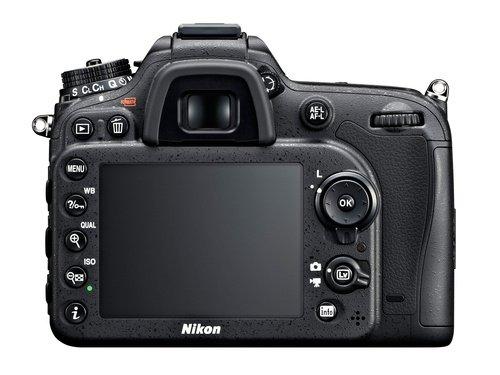 Зеркальная фотокамера Nikon D7100 - экран
