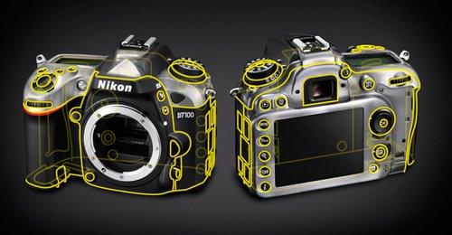 Зеркальная фотокамера Nikon D7100 матрица - корпус