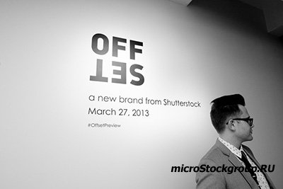 OFFSET - новый проект от фотобанка Shutterstock