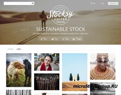 Фотобанк Stocksy начал свою работу