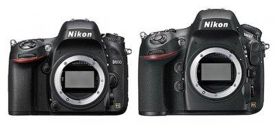 Nikon D600 и D800