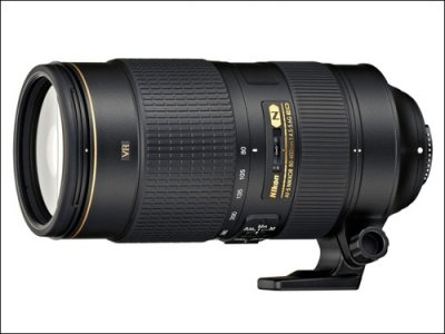 Nikon представил новый объектив AF-S 80–400mm f/4.5–5.6G ED VR