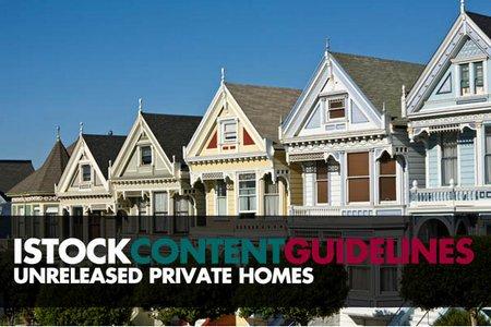 Изменения в политике релизов на частные дома в iStock
