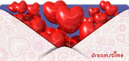 Бесплатные открытки и скидки на фото к Дню Святого Валентина от Dreamstime (2014)