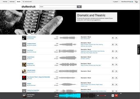 Shutterstock новый вид цифрового контента - Shutterstock Music